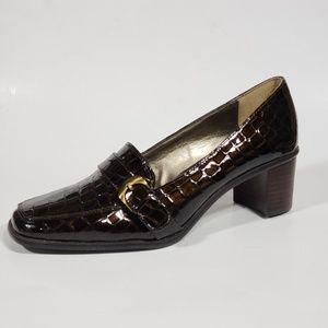 Liz Claiborne Patent Leather Loafers 9.5M